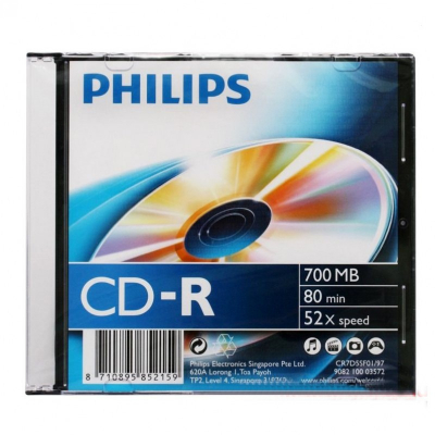 PHILIPS CD-R 700MB 52x Slim