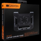 Canyon Laptop Cooling Stand for laptop up to 17', black color