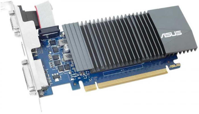 Asus Geforce GT 710 1GB DDR5 Low Profile, Silent, DVI + HDMI + VGA